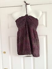 Bnwt Size 12 Pink And Black Vest Top