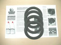"ADVENT Laureate Tower 4+ edges 6"" Speaker Refoam Repair Kit"