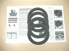 """ADVENT Laureate Tower 4+ edges 6"""" Speaker Refoam Repair Kit"""