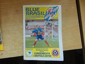 Friendly 2013/14 Cowdenbeath v Sheffield United