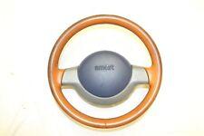 SMART ForTwo 450 LENKRAD LEDER LEDERLENKRAD BRAUN AIRBAG o. ESP 0001296V005 105