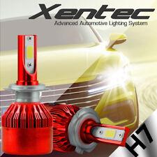 H7 Cree DualSide LED Headlight Bulb Kit Super White 6000K w/Anti Flicker Canbus