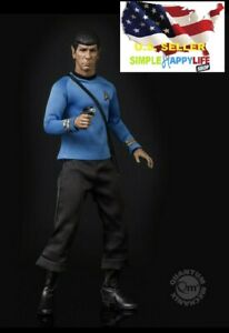 QMx 1/6 Scale Star Trek TOS Spock Collectible Action Figure Toy Brand New ❶USA❶