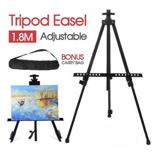 Adjustable Stand Tripod Easel 1.8M Display Drawing Board Artist Sketch Painting
