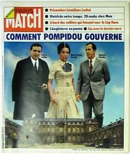 Paris Match No. 1289 - 19 janvier 1974 - Sergio leone, Lip, Moulinex, Pompidou