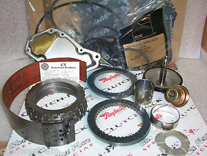 C4 Super Master Rebuild Kit With Raybestos Blue Plate Special Friction 1970-1972