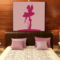 Fairy & Toadstool Wall Stickers! Removable Vinyl / Tinkerbell Wall Transfer FA6