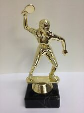 New Marble Based FEMALE TABLE TENNIS Trophy FREE ENGRAVING