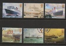 GB 2004 Ocean Liners fine used set stamps