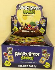 ANGRY BIRDS SPACE TRADING CARD COLLECTION - 36 PACKS - FULL BOX * NEW *