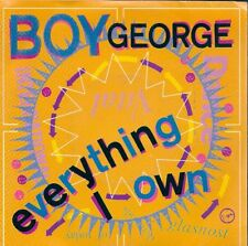 45 TOURS--BOY GEORGE--EVERYTHING I OWN--1987