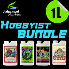 Advanced Nutrients Hobbyist Bundle Voodoo Juice Big Bud B-52 Overdrive, 1 Liter