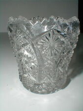 Imperial Clear Glass OCTAGON Toothpick Holder