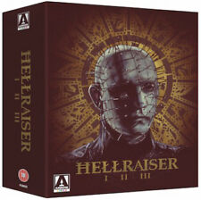 Hellraiser Trilogy Blu-ray 330 Minutes Horror Thriller Movies