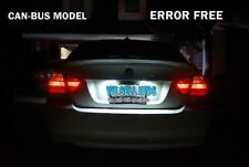 BMW E92 E60 E46 E90 M3 318 320 325 330 320d CANBUS LED NUMBER PLATE BULBS LIGHTS