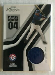 2004 Donruss Playoff Prestige Players Collection Jersey #PC-71 Rafael Palmeiro!
