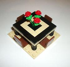 LEGO Furniture Dining Room Table Set 4MOCSET 10182 10232 10211 10185 10184 10243