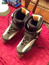 DBX Elite SS Roller Blades Size 9 SUPER CLEAN used A Few Times EXCELLENT COND.