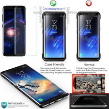 Samsung Galaxy S9 CASE FRIENDLY 4D Clear HD Tempered Glass Screen Protector
