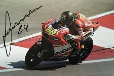 Andrea Iannone signed Moto GP 12x8 photo Image E UACC Registered Dealer