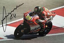 Andrea Iannone signed Moto GP 12x8 photo Image E UACC Registered Dealer