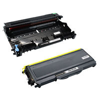 1 DR360 Drum+1 TN360 Toner For Brother TN330 MFC-7320 7340 HL-2140 DCP-7030 7040