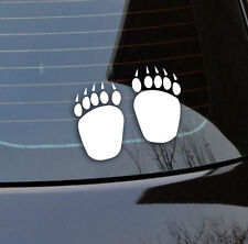 Bear Claws stickers vinyl cut 105 x 140 mm Australian made foot drop bears funny
