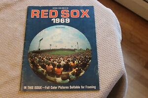 1969 Boston Red Sox REVISED baseball yearbook