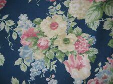 Westpoint Stevens 4 Piece Blue floral curtain panels Poly Blend