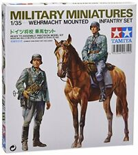 TAMIYA 1/35 Wehrmacht Mounted Infantry Set Model Kit NEW from Japan