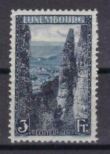Luxemburg mit Falz 1923 MiNr. 147  Echternach Wolfsschlucht