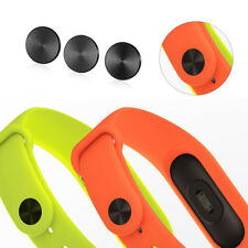3pcs Black Band Buckle for XIAOMI Mi Band 2 Smart Wristband Wrist Strap #58h