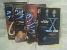 """""""The X-Files"""" Fox's 1990's Science Fiction Tv Show Tie-In Paperback Book Lot"""