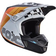 FOX V2 RHOR MOTOCROSS MX HELMET - WHITE enduro bike mtb bmx