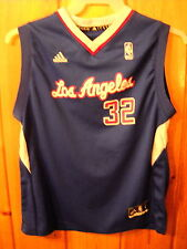 BLAKE GRIFFIN offical adidas NBA JERSEY SZ BOYS L LOS ANGELES CLIPPERS EX LOOK-C