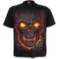 SPIRAL DIRECT SKULL LAVA - T-Shirt Flames/Reaper/Skulls/Death/Tee