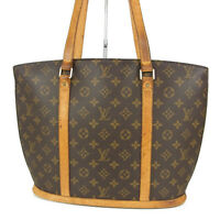 Auth LOUIS VUITTON M51102 Monogram Babylone Shoulder Tote Bag France 15480bkac