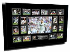 Cristiano Ronaldo Signed Real Madrid Limited Edition Memorabilia