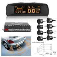 8 Parking Sensors LCD Car Backup Reverse Rear Radar Sound System Alert Alarm Kit