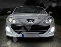 Pair Bulbs H8 LED Fog Light Bright 72W 8000Lm White 6500K Peugeot RCZ 2010-2015