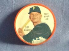1962 Salada Tea Junket Baseball coin  Don Hoak  3B  Pirates  #107