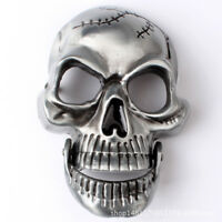 Belt buckle Silver Skull Men's Belt Buckles for women Cowboy Native American