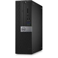Dell KKD12 OptiPlex 5050 Small Form Factor Desktop - Core i5-7500, 8GB RAM, 256GB SSD - Black