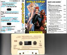 MARY & GORDY - Live 📼 MC Musikkassette