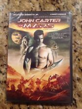 John Carter of Mars-Princess of Mars (DVD,2012)NEW Authentic US RELEASE