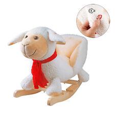 Schaukelpferd Kinderlieder Schaf Sound Schaukeltier Plüsch Schaukel Pferd Baby
