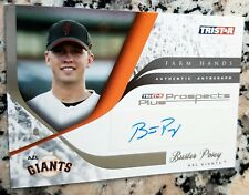 BUSTER POSEY 2008 Tristar Farm Hands AUTO Rookie Card RC Giants ROY MVP RARE HOT