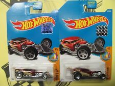 2017 HOT WHEELS FROM FACTORY SEALED SET SUPER TREASURE HUNT & REG SURF CRATE
