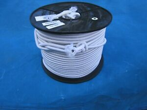 SHOCK CORD - 6mm dia white cut to length as required