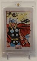 STAN LEE'S THOR MARVEL BRONZE AGE ARTIST SKETCHAFEX SKETCH AUTOGRAPH CARD 1/1